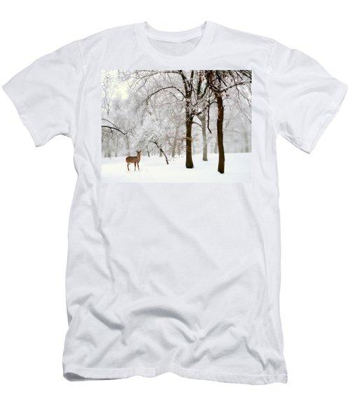 Winter's Breath Men's T-Shirt (Athletic Fit)