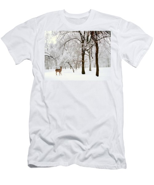 Winter's Breath Men's T-Shirt (Athletic Fit)
