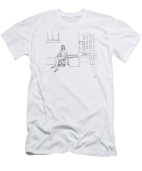 New Yorker September 24th, 2007 Men's T-Shirt (Athletic Fit)