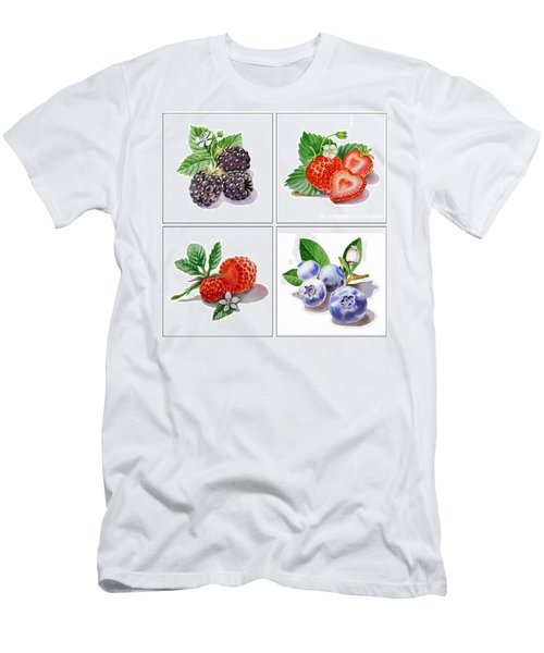Farmers Market Delight  Men's T-Shirt (Athletic Fit)