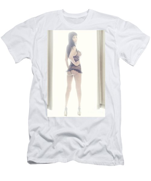 Sexy Girl Men's T-Shirt (Athletic Fit)