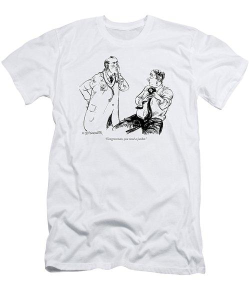 Congressman Men's T-Shirt (Athletic Fit)