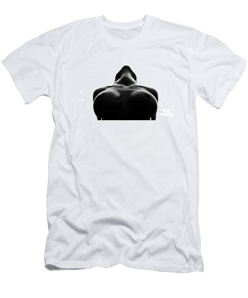 Black And White Nude Men's T-Shirt (Athletic Fit)