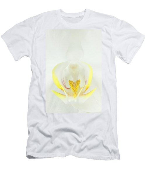 White Orchid-3 Men's T-Shirt (Athletic Fit)