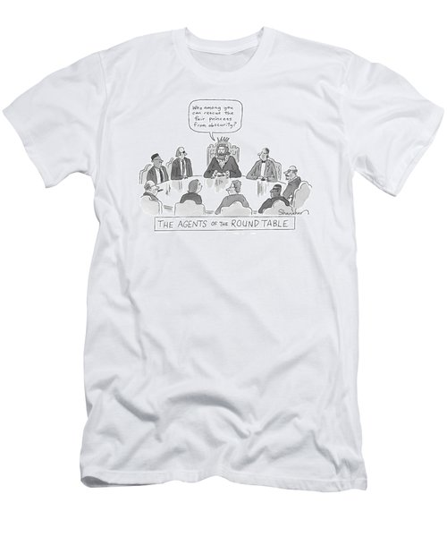 New Yorker May 4th, 2009 Men's T-Shirt (Athletic Fit)