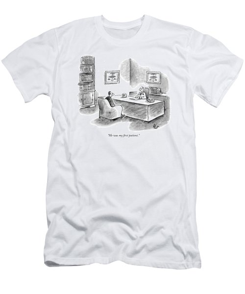He Was My First Patient Men's T-Shirt (Athletic Fit)