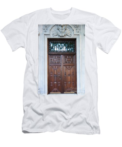 Distinctive Doors In Madrid Spain Men's T-Shirt (Athletic Fit)