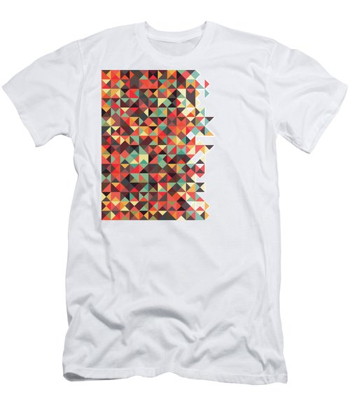 Geometric Art Men's T-Shirt (Athletic Fit)