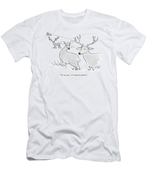 It's Not You - It's Natural Selection Men's T-Shirt (Athletic Fit)