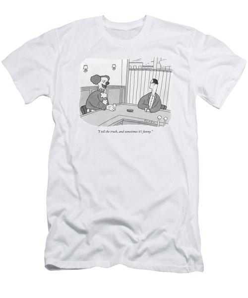 I Tell The Truth Men's T-Shirt (Athletic Fit)