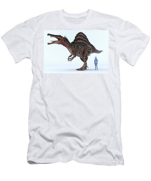 Dinosaur Spinosaurus Men's T-Shirt (Athletic Fit)