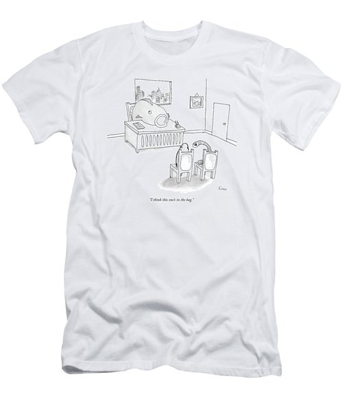 I Think This One's In The Bag Men's T-Shirt (Athletic Fit)