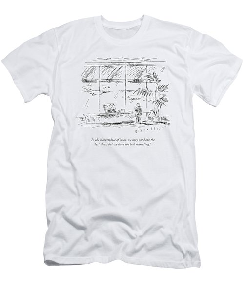 In The Marketplace Of Ideas Men's T-Shirt (Athletic Fit)