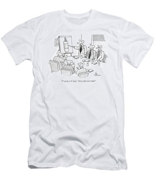 It's Going To Be Huge!  Cheese-flavored Vodka! Men's T-Shirt (Athletic Fit)