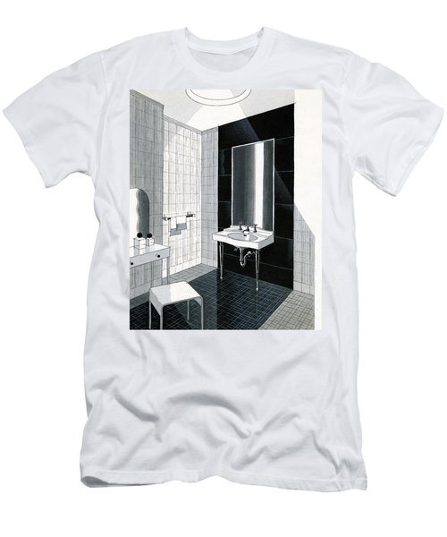A Bathroom For Kohler By Ely Jaques Kahn Men's T-Shirt (Athletic Fit)
