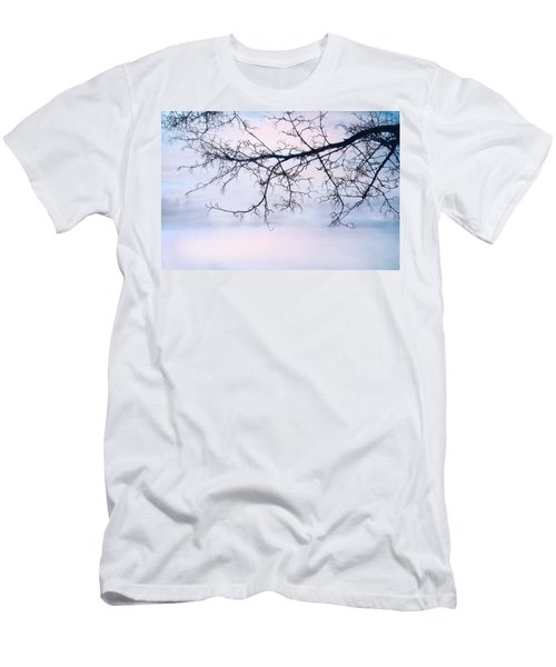 A Breathing Too Quiet To Hear Men's T-Shirt (Slim Fit) by Theresa Tahara
