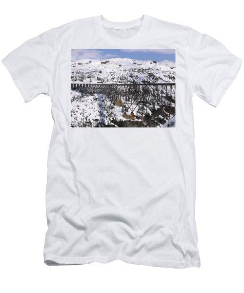 A Bridge In Alaska Men's T-Shirt (Athletic Fit)