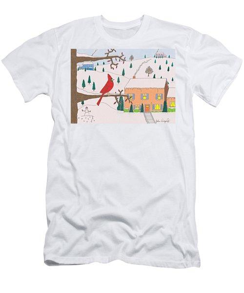 A Cardinal Christmas Men's T-Shirt (Athletic Fit)