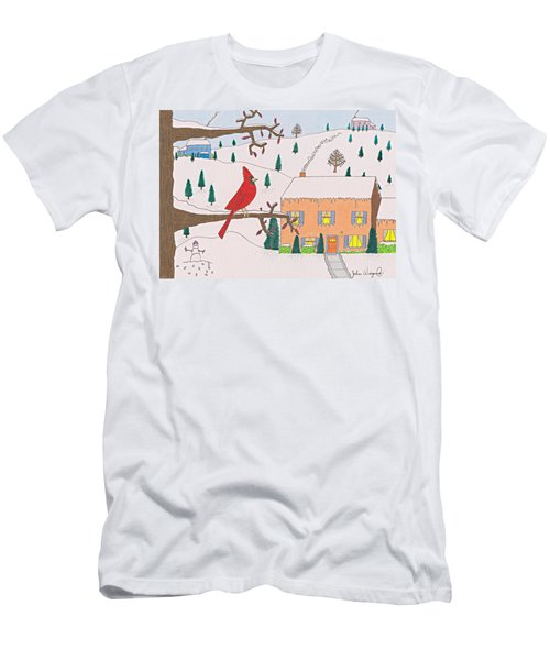 A Cardinal Christmas Men's T-Shirt (Athletic Fit)