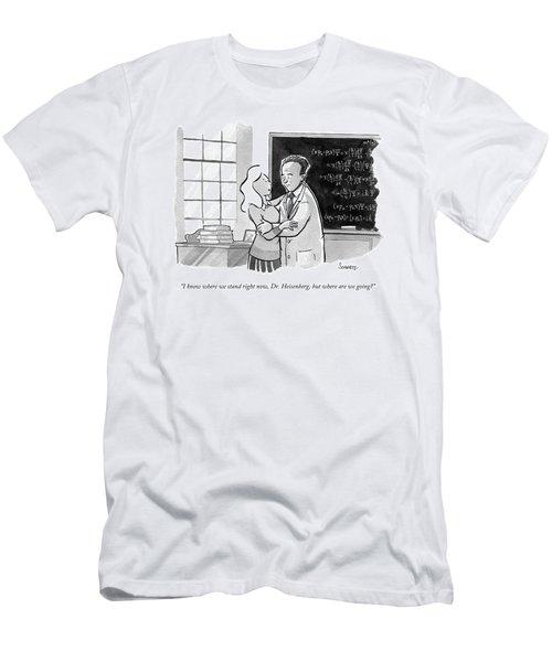 A Concerned Woman Embraces Dr. Heisenberg Men's T-Shirt (Athletic Fit)