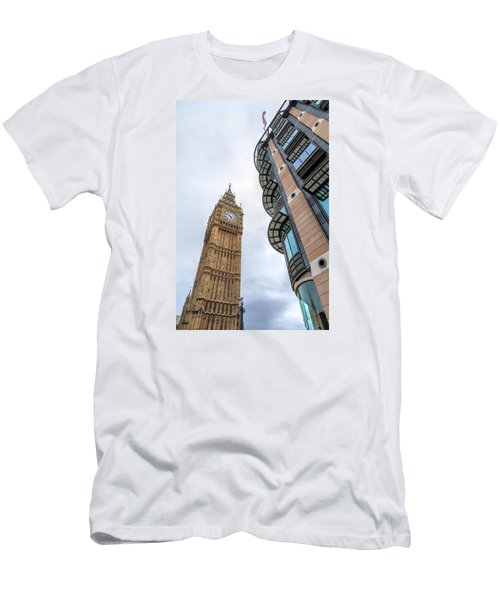 Men's T-Shirt (Slim Fit) featuring the photograph A Corner In London by Tim Stanley