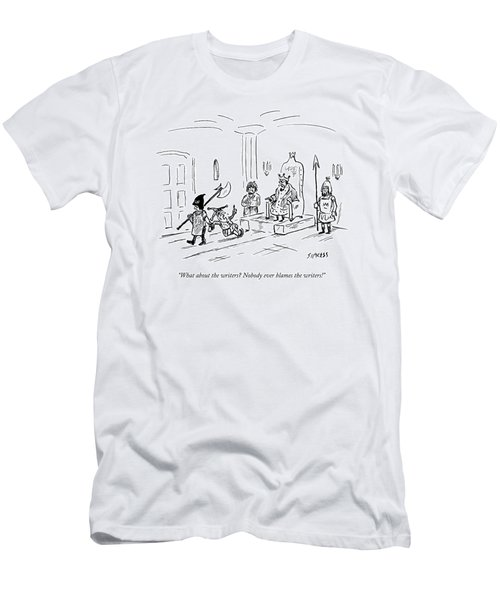 A Court Jester Says To The King Men's T-Shirt (Athletic Fit)