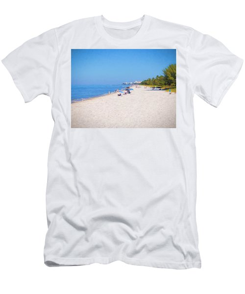A Day At Naples Beach Men's T-Shirt (Athletic Fit)