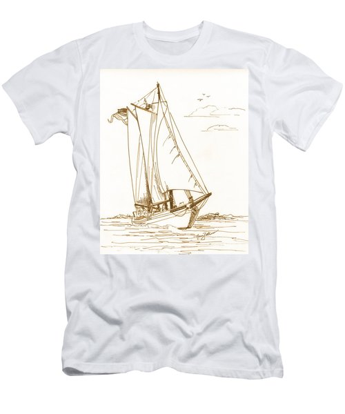 A Day On The Bay Men's T-Shirt (Athletic Fit)