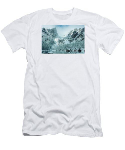 A Dream At Dream Lake Men's T-Shirt (Slim Fit) by Eric Glaser