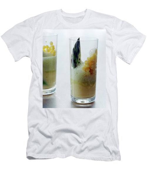 A Drink With Asparagus Men's T-Shirt (Athletic Fit)