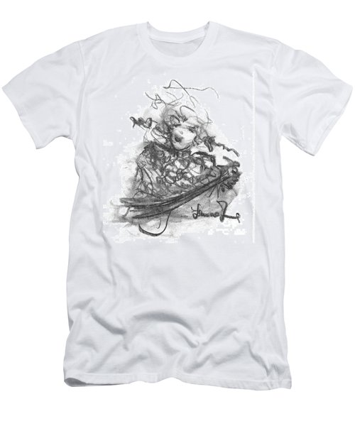 A Great Musician Men's T-Shirt (Slim Fit) by Laurie L