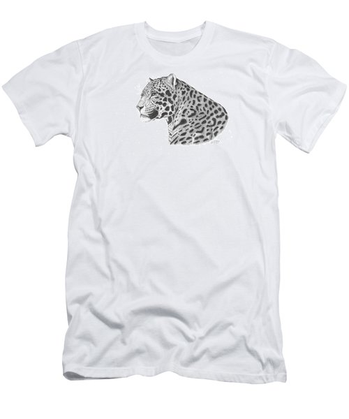 A Leopard's Watchful Eye Men's T-Shirt (Athletic Fit)