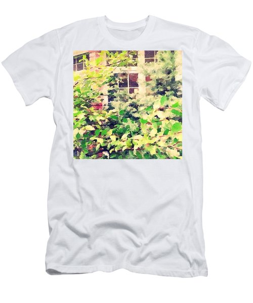 A Natural Screen - Front Bay Window Men's T-Shirt (Athletic Fit)