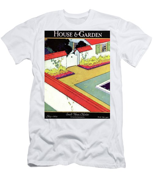 A Reflecting Pool And Garden Men's T-Shirt (Athletic Fit)