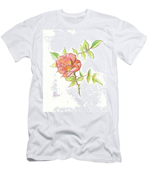 A Rose In Brigadoon Men's T-Shirt (Athletic Fit)