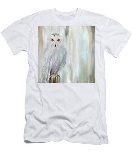 A Snowy Stare Men's T-Shirt (Athletic Fit)