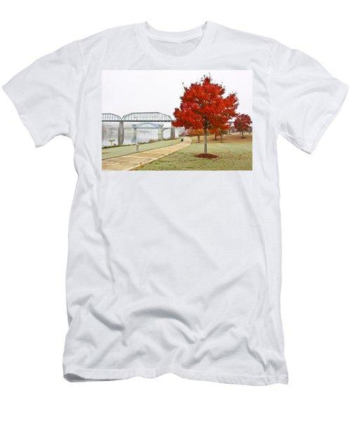 A Soft Autumn Day Men's T-Shirt (Athletic Fit)