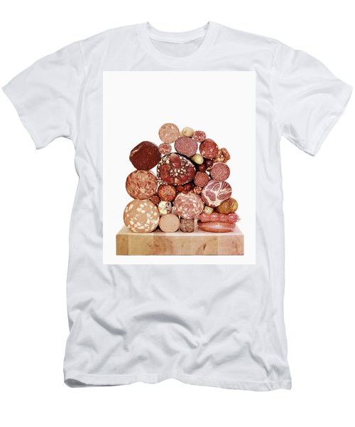 A Stack Of Sausages Men's T-Shirt (Athletic Fit)