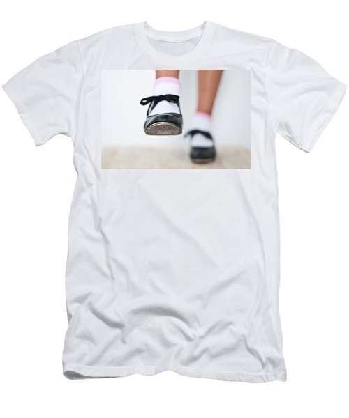 Old Tap Dance Shoes From Dance Academy - A Step Forward Tap Dance Men's T-Shirt (Athletic Fit)