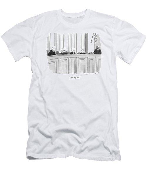 A Supreme Court Judge Gets Men's T-Shirt (Athletic Fit)