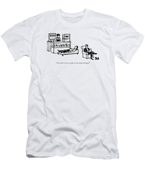 A Therapist's Office With A Concession Stand Men's T-Shirt (Athletic Fit)