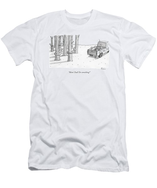 A Truck For Ed's Pool Toys Drives Pool Toys Men's T-Shirt (Athletic Fit)
