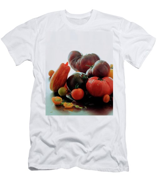 A Variety Of Vegetables Men's T-Shirt (Athletic Fit)
