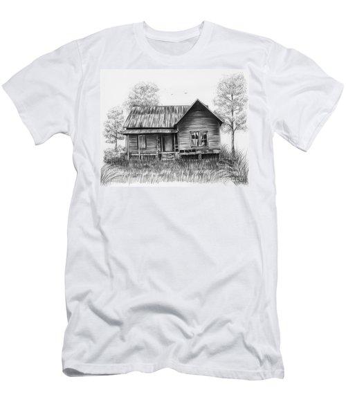 Abandoned House Men's T-Shirt (Slim Fit) by Lena Auxier
