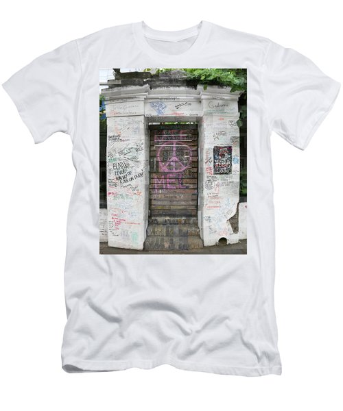 Abbey Road Graffiti Men's T-Shirt (Athletic Fit)
