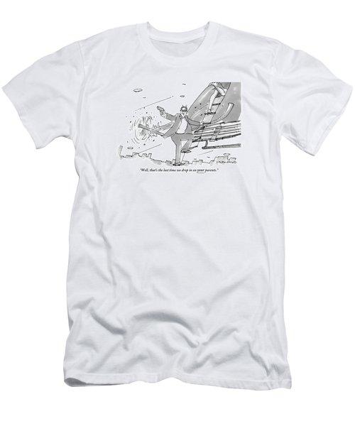 Above A City Men's T-Shirt (Athletic Fit)