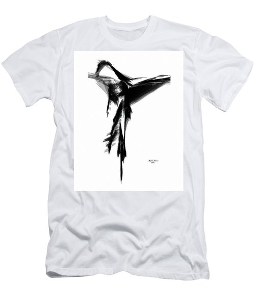 Abstract Flamenco Men's T-Shirt (Athletic Fit)