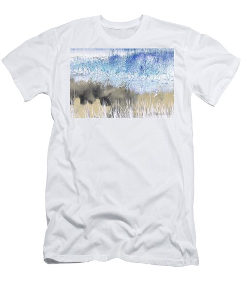 Abstract Marsh  Men's T-Shirt (Slim Fit)
