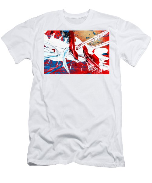 Abstract Original Artwork One Hundred Phoenixes Untitled Number Two Men's T-Shirt (Athletic Fit)