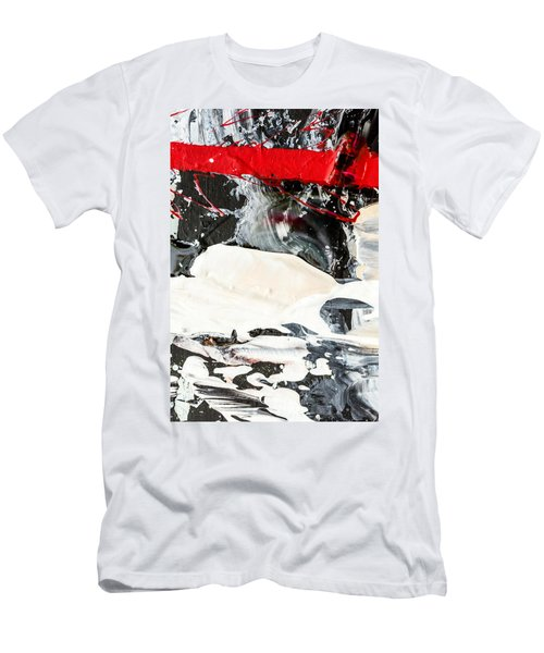 Abstract Original Painting Number Three Men's T-Shirt (Athletic Fit)